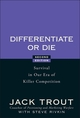 Differentiate or Die: Survival in Our Era of Killer Competition, 2nd Edition (0470223391) cover image