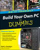 Build Your Own PC Do-It-Yourself For Dummies (0470462191) cover image