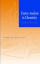Factor Analysis in Chemistry, 3rd Edition (0471134791) cover image