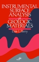 Instrumental Surface Analysis of Geologic Materials (0471187291) cover image
