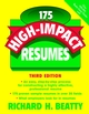 175 High-Impact Resumes, 3rd Edition (0471219991) cover image