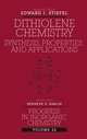 Dithiolene Chemistry: Synthesis, Properties, and Applications, Volume 52 (0471378291) cover image