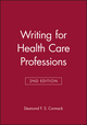 Writing for Health Care Professions, 2nd Edition (0632034491) cover image