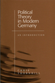 Political Theory in Modern Germany: An Introduction (0745619991) cover image