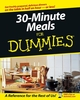 30-Minute Meals For Dummies (0764525891) cover image