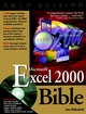 Microsoft Excel 2000 Bible, Gold Edition (0764534491) cover image
