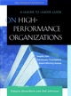 On High Performance Organizations: A Leader to Leader Guide (0787960691) cover image
