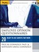 Employee Opinion Questionnaires: 20 Ready-to-Use Surveys That Work (0787973491) cover image