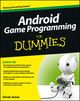 Android Game Programming For Dummies (1118235991) cover image