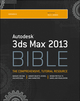 Autodesk 3ds Max 2013 Bible (1118352491) cover image