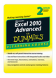 Excel 2010 For Dummies eLearning Course (Advanced) - Digital Only (30 Day) (1118459091) cover image