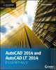 AutoCAD 2014 Essentials: Autodesk Official Press (1118575091) cover image