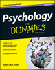 Psychology For Dummies, 2nd Edition (1118603591) cover image