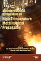 4th International Symposium on High Temperature Metallurgical Processing (1118605691) cover image