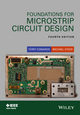 Foundations for Microstrip Circuit Design, 4th Edition (1118936191) cover image