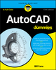 AutoCAD For Dummies, 17th Edition (1119255791) cover image