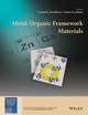 Metal-Organic Framework Materials (1119952891) cover image