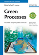 Green Processes: Designing Safer Chemicals, Volume 9 (3527326391) cover image