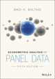 Econometric Analysis of Panel Data, 5th Edition (EHEP003191) cover image