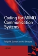 Coding for MIMO Communication Systems (0470028092) cover image
