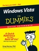 Windows Vista For Dummies Quick Reference (0470097892) cover image