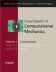 Encyclopedia of Computational Mechanics, 3 Volume Set (0470846992) cover image