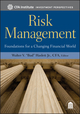 Risk Management: Foundations For a Changing Financial World (0470903392) cover image