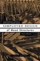 Simplified Design of Wood Structures, 5th Edition (0471179892) cover image