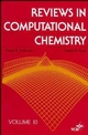 Reviews in Computational Chemistry, Volume 9 (0471186392) cover image