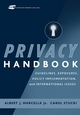 Privacy Handbook: Guidelines, Exposures, Policy Implementation, and International Issues (0471232092) cover image