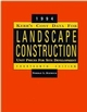 Kerr's Cost Data for Landscape Construction: 1994 Unit Prices for Site Development, 14th Edition (0471286192) cover image