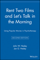 Rent Two Films and Let's Talk in the Morning: Using Popular Movies in Psychotherapy, 2nd Edition (0471416592) cover image