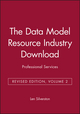 The Data Model Resource Industry Download, Volume 2: Professional Services, Revised Edition (0471441392) cover image