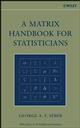 A Matrix Handbook for Statisticians (0471748692) cover image