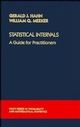 Statistical Intervals: A Guide for Practitioners (0471887692) cover image