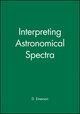 Interpreting Astronomical Spectra (0471976792) cover image