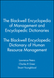 The Blackwell Encyclopedia of Management and Encyclopedic Dictionaries, The Blackwell Encyclopedic Dictionary of Human Resource Management (0631210792) cover image