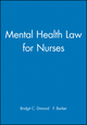 Mental Health Law for Nurses (0632039892) cover image