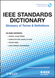 IEEE Standards Dictionary: Glossary of Terms & Definitions (0738157392) cover image