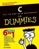 C All-in-One Desk Reference For Dummies (0764570692) cover image