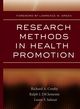 Research Methods in Health Promotion (0787976792) cover image