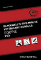 Blackwell's Five-Minute Veterinary Consult: Equine PDA, 2nd Edition (0813817692) cover image