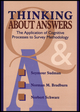 Thinking About Answers: The Application of Cognitive Processes to Survey Methodology (1118016092) cover image
