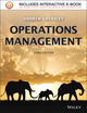 Operations Management, 3rd Edition (1118606892) cover image