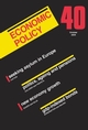 Economic Policy 40 (1405119292) cover image