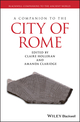 A Companion to the City of Rome (1405198192) cover image