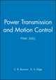 Power Transmission and Motion Control: PTMC 2002 (1860583792) cover image