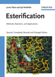Esterification: Methods, Reactions, and Applications, 2nd Edition (3527322892) cover image