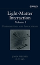 Light-Matter Interaction, Volume 1, Fundamentals and Applications (3527617892) cover image