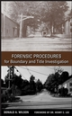 Forensic Procedures for Boundary and Title Investigation (0470113693) cover image